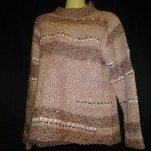 Coldwater Creek Ribbon Sweater